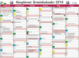 Screenshot Terminkalender